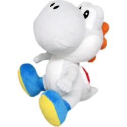 Nintendo Plüschfigur Yoshi, weiß, 17 cm