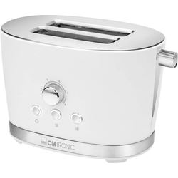 CLATRONIC 2-in-1-Toaster Toaster TA 3690 weiss, 850 W
