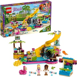 Lego Friends Andreas Pool-Party 41374
