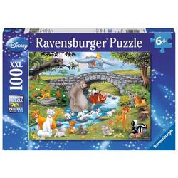Ravensburger 10947 Puzzle Die Familie der Animal Friends 100 Teile 10947