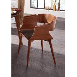 Stuhl SWING 1 Stück braun