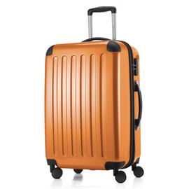 HAUPTSTADTKOFFER Alex 4-Rollen 65 cm / 63-74 l orange mit TSA