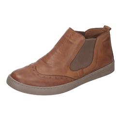 MANITU Damen Chelsea Boots braun, Größe 37, 5073987