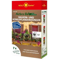 WOLF-Garten Pflanzendünger N-BK 0,85 NATURA BIO, Granulat, für Balkon- und Kübelpflanzen, 0,85 kg