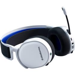 SteelSeries Gaming Headset für PS5 und PS4 Arctis 7P White Gaming-Headset