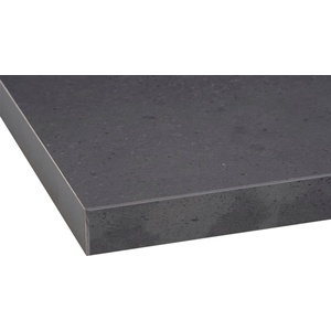 OPTIFIT Arbeitsplatte Mats, 28 mm stark schwarz 30 cm x 2,8 cm x 60 cm