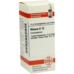 RHEUM D 12 Globuli 10 g