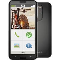 Emporia SMART.5 Senioren-Smartphone IP54 Schwarz