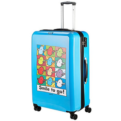 Check In Sheepworld 4-Rollen-Trolley 77 cm - blau