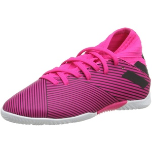 adidas Jungen Unisex-Kinder Nemeziz 19.3 In J Fußballschuhe, Mehrfarbig (Shock Pink/Core Black/Shock Pink 000), 29 EU