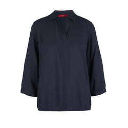 Jacquard-Bluse Damen Größe: 38