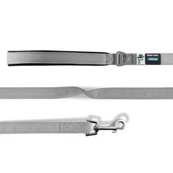 Curli Basic Leine Nylon grau, Maße: 140 cm / 2 cm