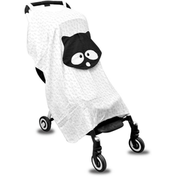 smarTrike® Kinder-Buggy toTs Bambus Buggy Sonnenschutz Waschbär, für den Buggy