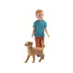 DJECO Puppenhausmöbel Puppenhaus - Xavier