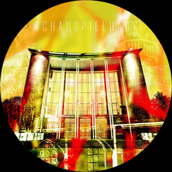 Glasbild BOCHUM (D 50 cm) Pro-Art