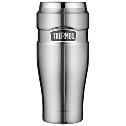 THERMOS Thermobecher Thermos Thermokaffeebecher Tumbler 'King', Edelstahl