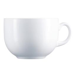 Luminarc Teeglas Jumbo, Opalglas, Jumbotasse 720ml Opalglas weiß 1 Stück