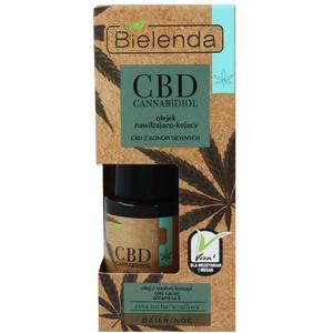 Bielenda CBD Cannabidiol Gesichtsöl - Serum für Trockene und empfindliche Haut 15 ml