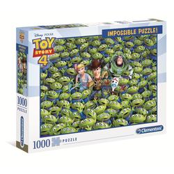 Clementoni® Puzzle 39499 Toy Story 4 Impossible 1000 Teile Puzzle, 1000 Puzzleteile bunt