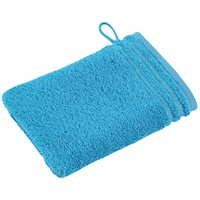 Waschhandschuh Calypso Feeling turquoise, 16 x 22 cm