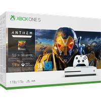 Microsoft Xbox One S 1TB weiß + Anthem (Bundle)