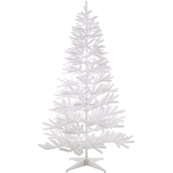 Home affaire Künstlicher Weihnachtsbaum, in edlem Weiß, mit Metallständer Ø 111 cm x 210 cm
