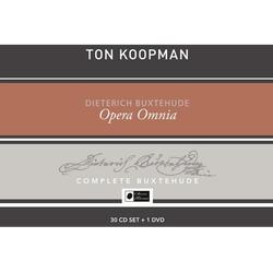 Ton & The Amsterdam Baroque Orchestra Choir Koopman - Opera Omnia-Buxtehude Collector's Box (CD)