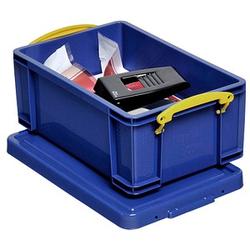 Really Useful Box Aufbewahrungsbox 9,0 l blau 39,5 x 25,5 x 15,5 cm