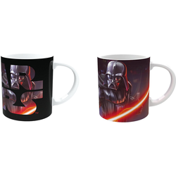 Joy Toy Tasse Star Wars - Darth Vader Magic-Mug Keramiktasse