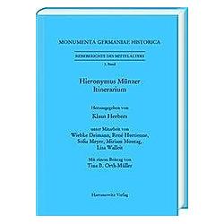 Hieronymus Münzer - Buch