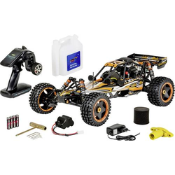 Carson Modellsport Wild GP Attack 1:5 RC Modellauto Benzin Buggy Heckantrieb (2WD) RtR 2,4GHz