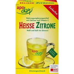 apoday Heisse Zitrone Vit C u. Calcium zuckerfrei