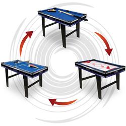 Multifunktionstisch GALAXY-XT, 3in1 Multifunktionstisch mit 3 Spielen