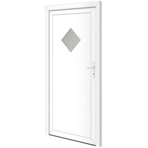 RORO Türen & Fenster Nebeneingangstür OTTO 24, BxH: 98x198 cm, weiß, ohne Griffgarnitur