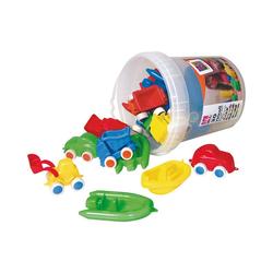 EDUPLAY Spielzeug-Auto Vinyl-Fahrzeuge im Set, 3 Stück