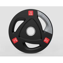 Technofit Hantelscheibe Hantelscheiben Olympic 2 x 15 kg 50 mm Durchmesser