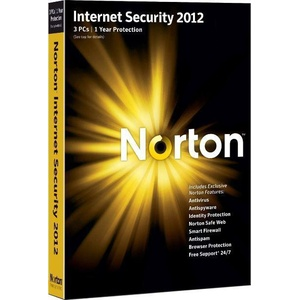 Symantec Norton Internet Security 2012, 3u, 1y, CD, WIN, FRE, 3 Benutzer, 1 Jahr(e), 300 MB, 256 MB, 300 MHz, Windows XP Home SP2+ (32-bit) Windows XP Professional SP2+ (32-bit)