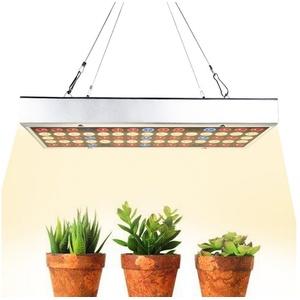 Rosnek Pflanzenlampe LED Wachstumslampe Pflanzenlampe Vollspektrum Pflanzenleuchte,Grow Pflanzenlicht Für Gewächshaus Sämlinge Gemüse, Zwei Beleuchtungsmodi