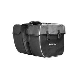 tectake Fahrradtasche Fahrradtasche mit Gepäckträger-Befestigung und