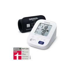 Omron Oberarm-Blutdruckmessgerät X3 Comfort, mit Bluthochdruckindikator