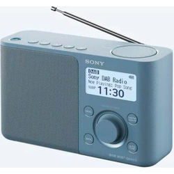 Sony XDR-S61D Radio (Digitalradio (DAB), FM-Tuner) blau