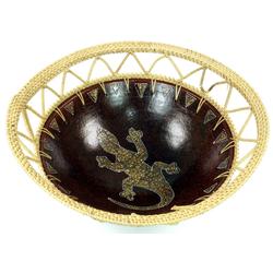 Guru-Shop Dekoschale Keramikschale, Obstschale Ø 23 cm x 23 cm x 12 cm x 23 cm