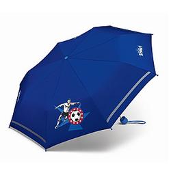 Scout Kinder-Taschen-Schirm Fussballstar