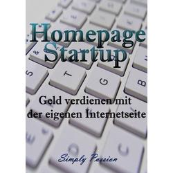 Homepage Startup als Buch von Simply Passion