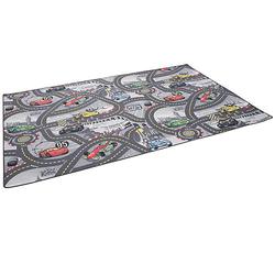 Kinder und Spielteppich Disney Cars Spielteppiche grau Gr. 100 x 100