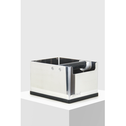 JoeFrex Abschlagbehälter Metall M