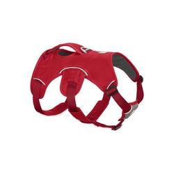Ruffwear Hunde-Geschirr Webmaster, Nylon rot L - 81 cm - 107 cm