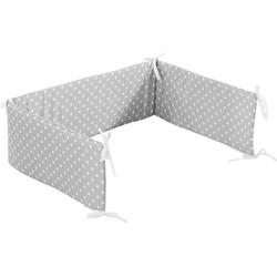 Alvi® Bettnestchen Nestchen Stars silber, 180 cm