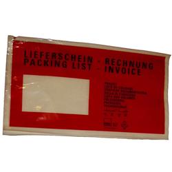 Begleitpapiertaschen Lieferscheintaschen DIN lang 230 x110 mm 1000 St.