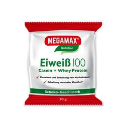 EIWEISS 100 Schoko Megamax Pulver 30 g